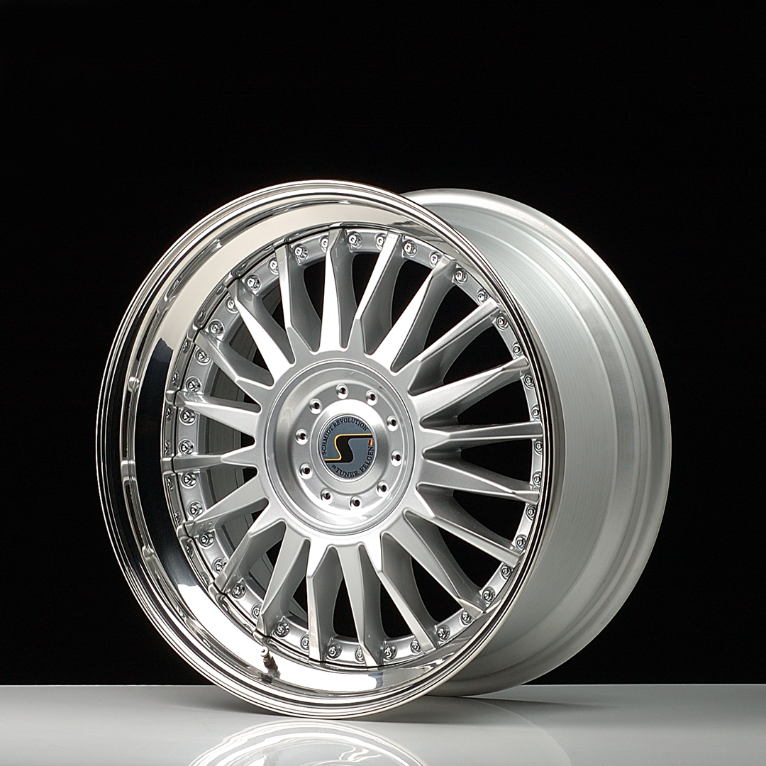 SCHMIDT CC-Line hliníkové disky 13x20 5x108 ET21 Highgloss Silber