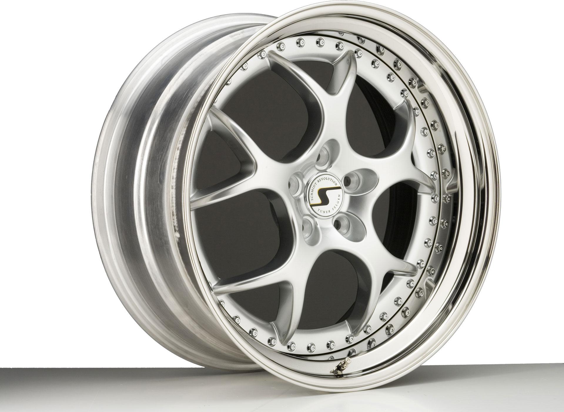 SCHMIDT VN-Line hliníkové disky 12x20 5x108 ET16 Highgloss Silber