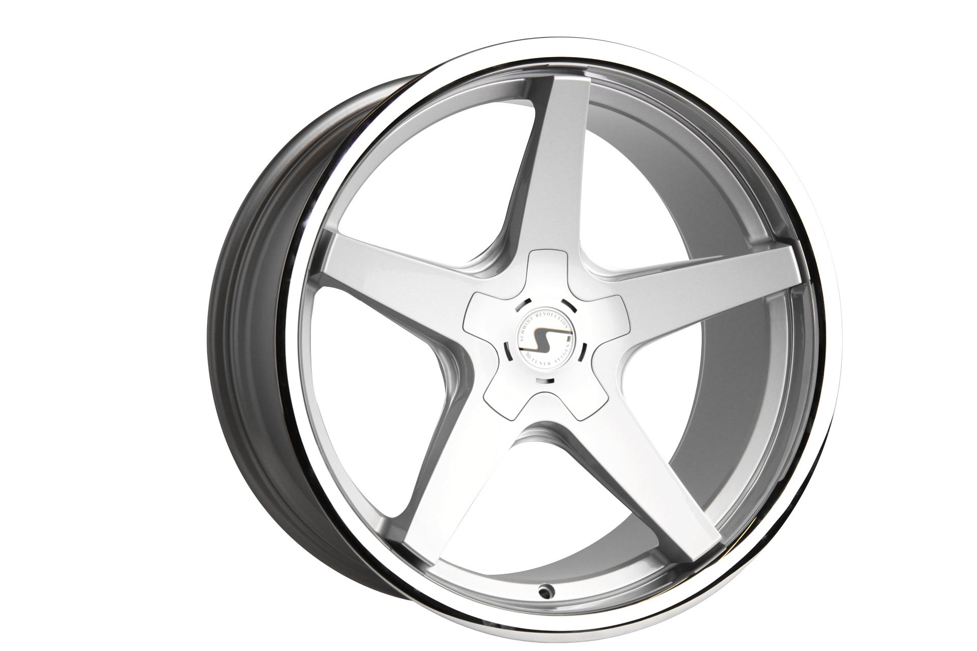 SCHMIDT XS5 hliníkové disky 8,5x19 5x108 ET27 Highgloss Silber
